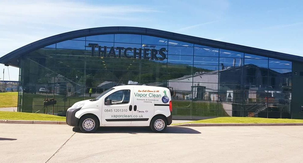 Thatchers Chooses Contract Cleaning Family Run business