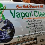 Vapor Clean Cleaning Services Van In Weston Super Mare