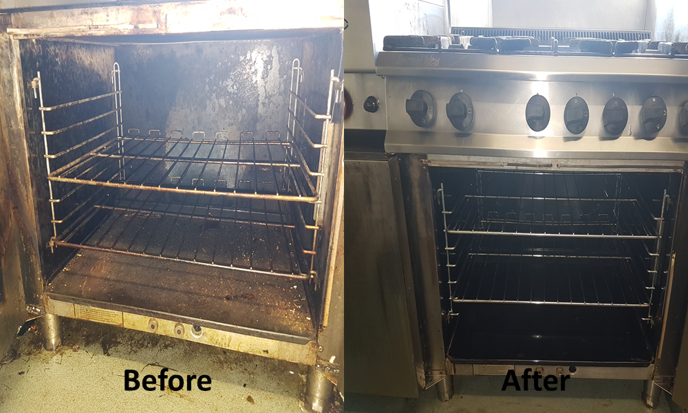 Vapor Clean Professional Commercial Oven Cleaning