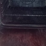 dirty oven cleaning before