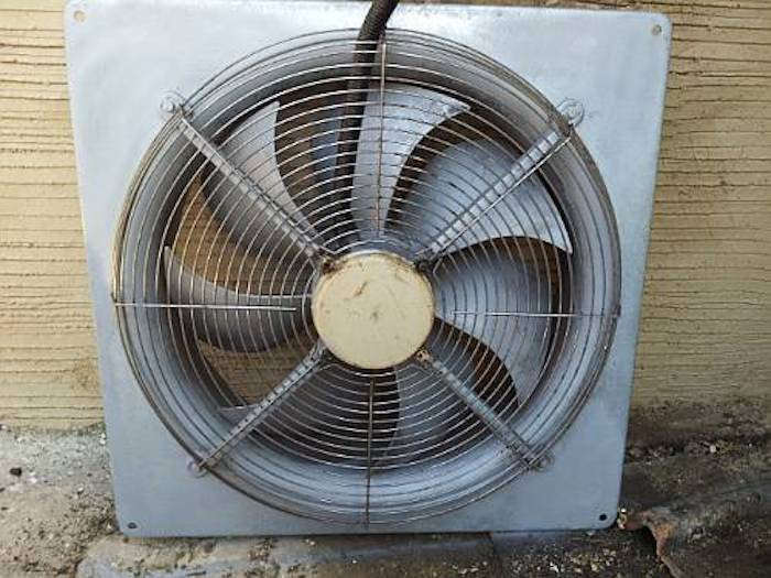 extractor fan after clean