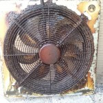 extractor fan before clean
