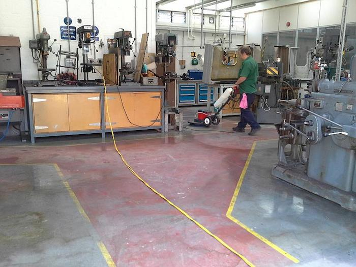 factory cleaning services