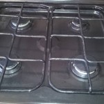 gas hob cleaning after