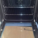 oven cleaned by vapor clean